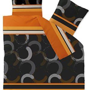 Traumhafte Bettwäsche aus Fleece - braun 200x200 von CelinaTex