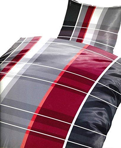 kuschelige bettw sche aus fleece grau 135x200 von 1stb home bettw sche. Black Bedroom Furniture Sets. Home Design Ideas