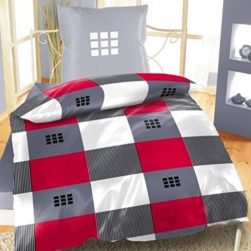 sch ne bettw sche aus fleece grau 135x200 von bertels bettw sche. Black Bedroom Furniture Sets. Home Design Ideas