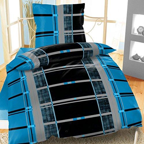 sch ne bettw sche aus fleece grau 135x200 von daspasstgut bettw sche. Black Bedroom Furniture Sets. Home Design Ideas
