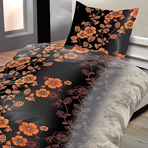 sch ne bettw sche aus fleece grau 155x220 von bertels. Black Bedroom Furniture Sets. Home Design Ideas