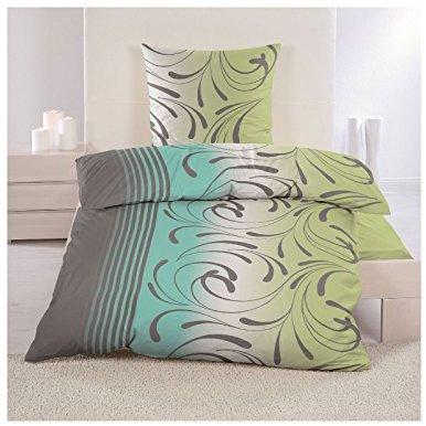 h bsche bettw sche aus fleece gr n 135x200 von. Black Bedroom Furniture Sets. Home Design Ideas