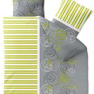 Traumhafte Bettwäsche aus Fleece - grün 200x200 von CelinaTex