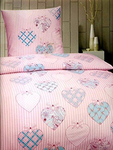 kuschelige bettw sche aus fleece rosa 135x200 von bettenpoint bettw sche. Black Bedroom Furniture Sets. Home Design Ideas