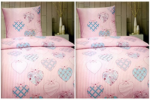 sch ne bettw sche aus fleece rosa 135x200 von bettenpoint bettw sche. Black Bedroom Furniture Sets. Home Design Ideas