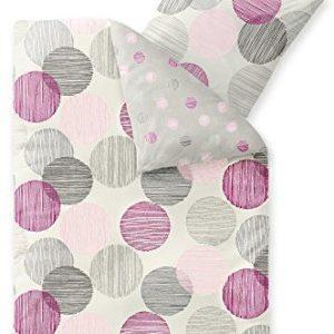 Traumhafte Bettwäsche aus Fleece - rosa 135x200 von CelinaTex
