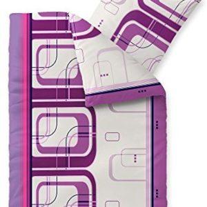 Kuschelige Bettwäsche aus Fleece - rosa 155x220 von CelinaTex