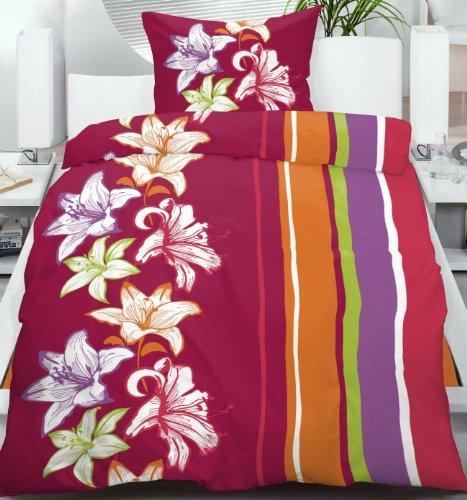 h bsche bettw sche aus fleece rot 135x200 von unbekannt bettw sche. Black Bedroom Furniture Sets. Home Design Ideas