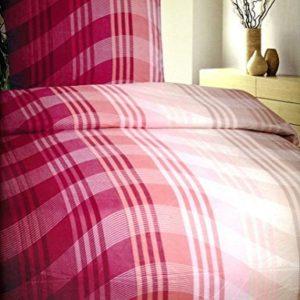Schöne Bettwäsche aus Fleece - schwarz 135x200 von Bettenpoint