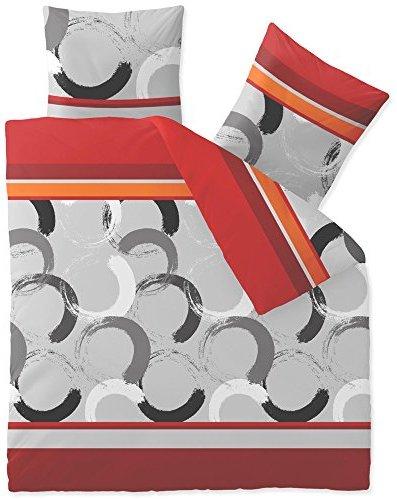 Kuschelige Bettwäsche aus Fleece - schwarz 200x220 von CelinaTex