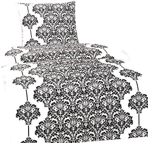 traumhafte bettw sche aus fleece schwarz wei 135x200 von leonado vicenti bettw sche. Black Bedroom Furniture Sets. Home Design Ideas
