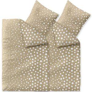 Schöne Bettwäsche aus Fleece - weiß 135x200 von CelinaTex