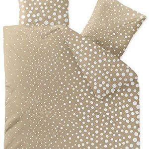 Hübsche Bettwäsche aus Fleece - weiß 200x200 von CelinaTex