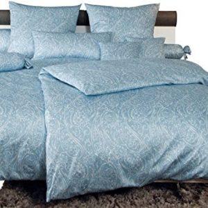 Schöne Bettwäsche aus Jersey - blau 135x200 von Janine Design