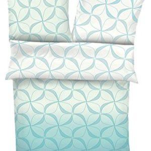 Schöne Bettwäsche aus Jersey - blau 135x200 von s.Oliver