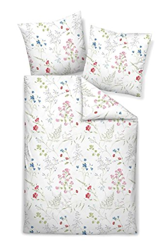 kuschelige bettw sche aus jersey blau 155x220 von janine. Black Bedroom Furniture Sets. Home Design Ideas