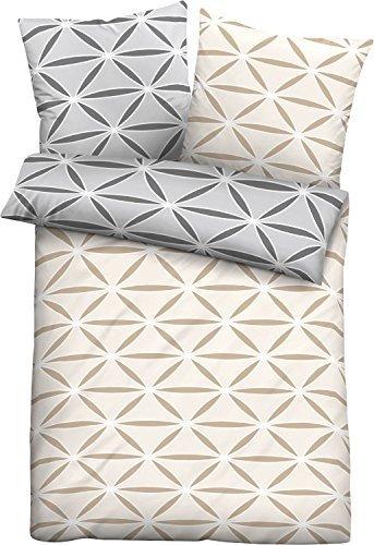 kuschelige bettw sche aus jersey grau 135x200 von biberna bettw sche. Black Bedroom Furniture Sets. Home Design Ideas