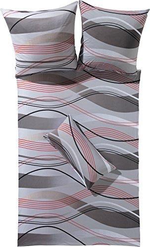traumhafte bettw sche aus jersey grau 135x200 von erwin m ller bettw sche. Black Bedroom Furniture Sets. Home Design Ideas