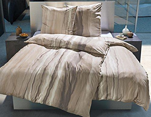 kuschelige bettw sche aus jersey grau 135x200 von estella bettw sche. Black Bedroom Furniture Sets. Home Design Ideas
