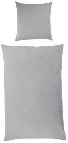 Schöne Bettwäsche aus Jersey - grau 135x200 von Kasandria Home & Living