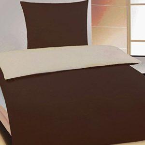 Traumhafte Bettwäsche aus Jersey - grau 135x200 von KH-Haushaltshandel