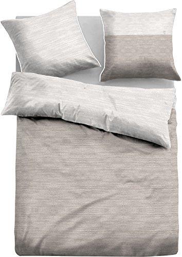 kuschelige bettw sche aus jersey grau 135x200 von tom tailor bettw sche. Black Bedroom Furniture Sets. Home Design Ideas