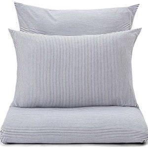 Schöne Bettwäsche aus Jersey - grau 155x220 von URBANARA