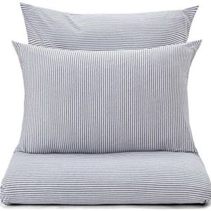 Kuschelige Bettwäsche aus Jersey - grau 200x200 von URBANARA