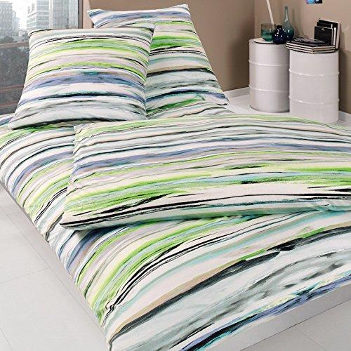 sch ne bettw sche aus jersey gr n 135x200 von estella bettw sche. Black Bedroom Furniture Sets. Home Design Ideas