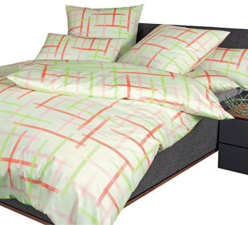 kuschelige bettw sche aus jersey gr n 135x200 von janine design bettw sche. Black Bedroom Furniture Sets. Home Design Ideas