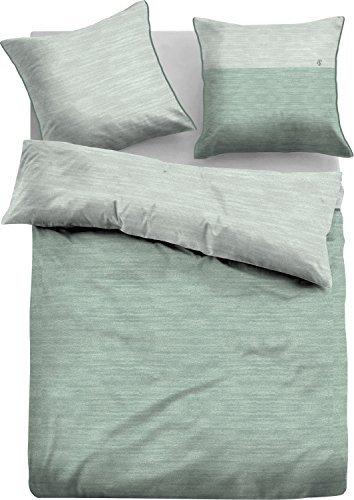 sch ne bettw sche aus jersey gr n 135x200 von tom tailor bettw sche. Black Bedroom Furniture Sets. Home Design Ideas