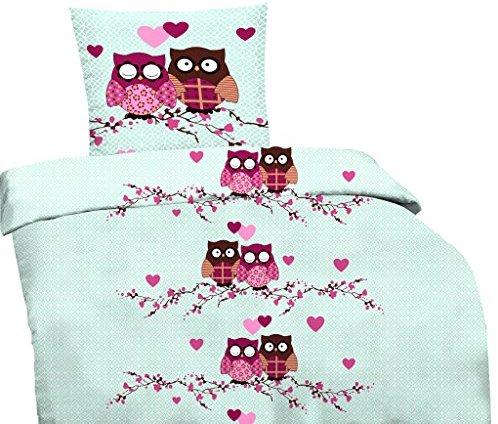 traumhafte bettw sche aus jersey rosa 135x200 von. Black Bedroom Furniture Sets. Home Design Ideas