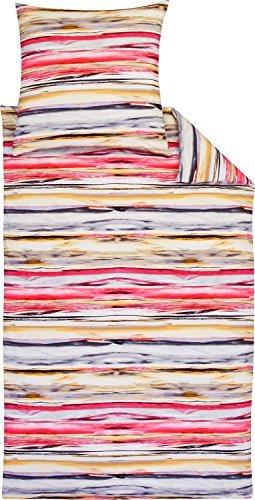 Traumhafte Bettwäsche aus Jersey - rosa 155x220 von Estella Ateliers