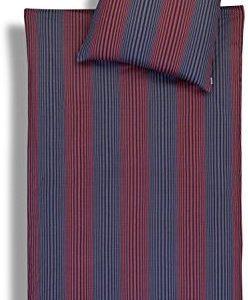 Schöne Bettwäsche aus Jersey - rot 135x200 von Estella
