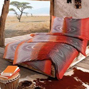 Traumhafte Bettwäsche aus Jersey - rot 135x200 von Estella