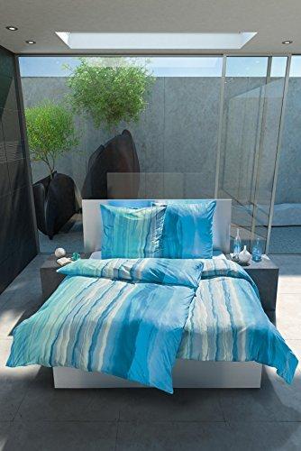 h bsche bettw sche aus jersey t rkis 135x200 von estella bettw sche. Black Bedroom Furniture Sets. Home Design Ideas