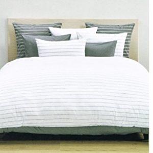 Kuschelige Bettwäsche aus Jersey - weiß 135x200 von