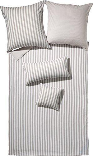 Kuschelige Bettwäsche aus Jersey - weiß 155x200 von Erwin Müller