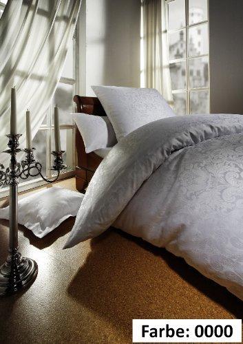 traumhafte bettw sche aus jersey wei 155x220 von curt bauer bettw sche. Black Bedroom Furniture Sets. Home Design Ideas