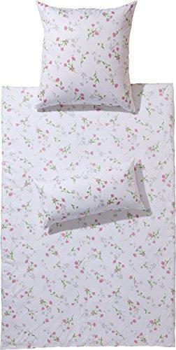 Traumhafte Bettwäsche aus Jersey - weiß 155x220 von Erwin Müller