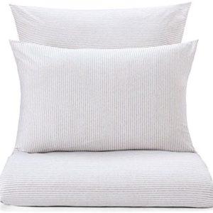 Schöne Bettwäsche aus Jersey - weiß 155x220 von URBANARA