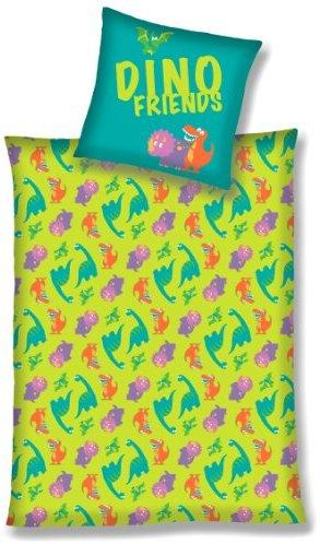 Kuschelige Bettwäsche aus Linon - grün 135x200 von Primera