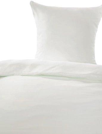 Traumhafte Bettwäsche aus Linon - weiß 155x220