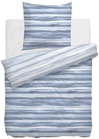 sch ne bettw sche aus mako satin blau 135x200 von hnl living bettw sche. Black Bedroom Furniture Sets. Home Design Ideas
