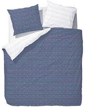 sch ne bettw sche aus mako satin blau 135x200 von unbekannt bettw sche. Black Bedroom Furniture Sets. Home Design Ideas