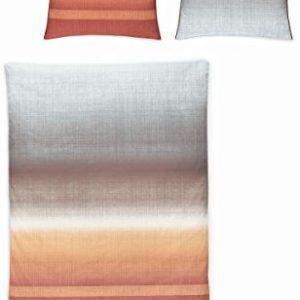 Traumhafte Bettwäsche aus Mako-Satin - grau 135x200 von Irisette