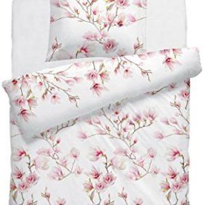 Traumhafte Bettwäsche aus Mako-Satin - weiß 135x200 von F2F