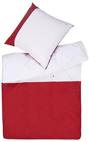 kuschelige bettw sche aus mako satin wei 135x200 von tommy hilfiger bettw sche. Black Bedroom Furniture Sets. Home Design Ideas