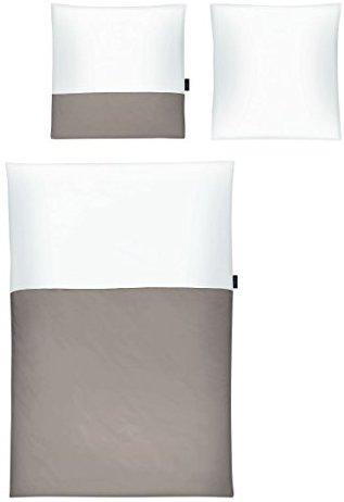 traumhafte bettw sche aus mako satin wei 155x220 von strenesse bettw sche. Black Bedroom Furniture Sets. Home Design Ideas