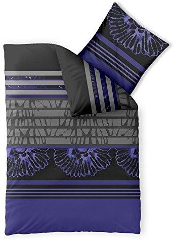 traumhafte bettw sche aus microfaser blau 155x220 von. Black Bedroom Furniture Sets. Home Design Ideas